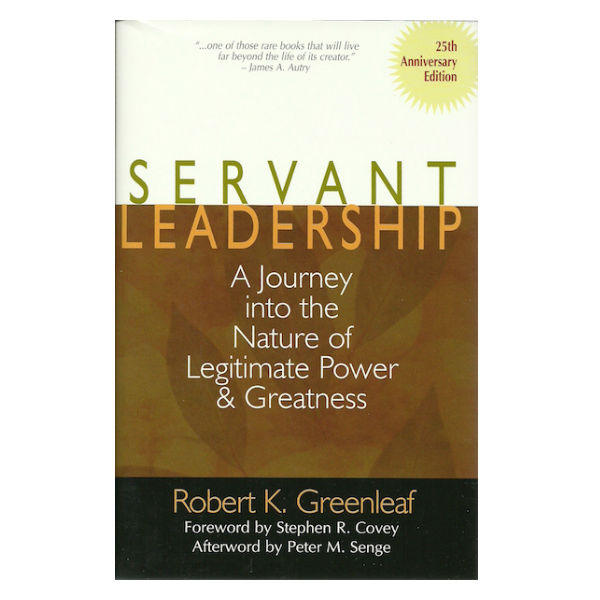 greenleaf essay on servant leadership 2014-2-21  view and download servant leadership essays examples also discover topics, titles, outlines, thesis statements, and conclusions for your servant leadership essay.