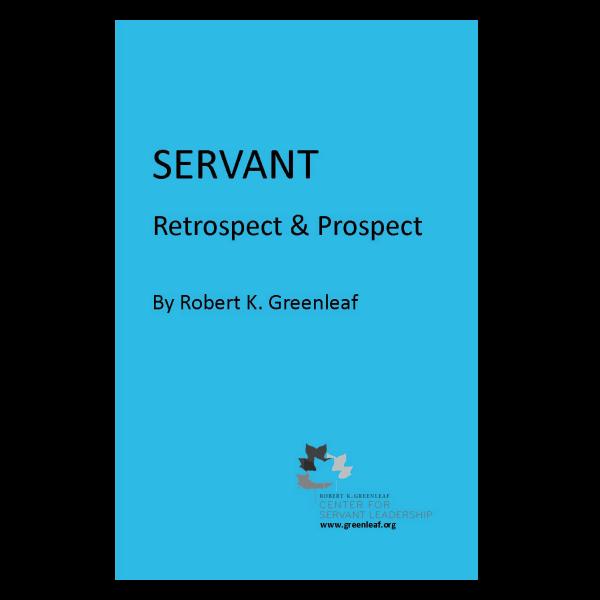 Servant Retrospect & Prospect